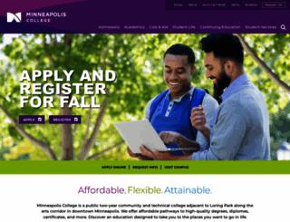 minneapolis.edu screenshot