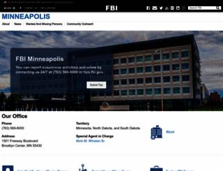 minneapolis.fbi.gov screenshot