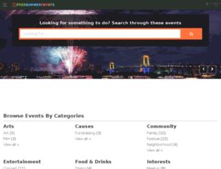 minneapolis.freesummerevents.com screenshot
