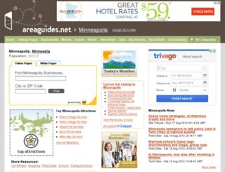 minneapolismn.areaguides.net screenshot