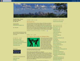 minneapolisrealestateblog.blogspot.com screenshot