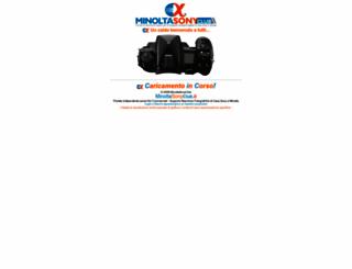 minoltasonyclub.it screenshot