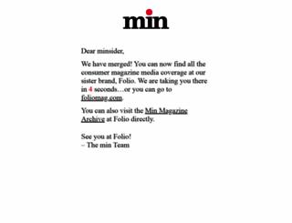 minonline.com screenshot