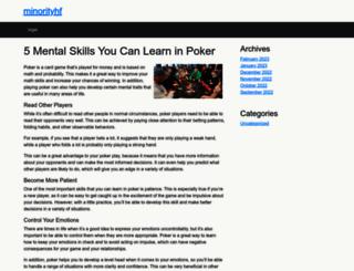 minorityhf.org screenshot