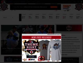 minorleaguebaseball.com screenshot