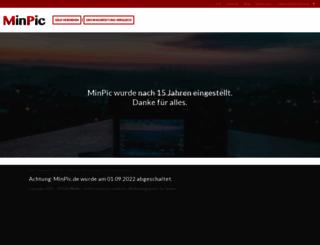 minpic.de screenshot