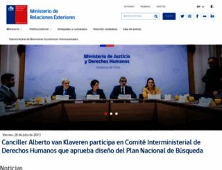 minrel.gov.cl screenshot