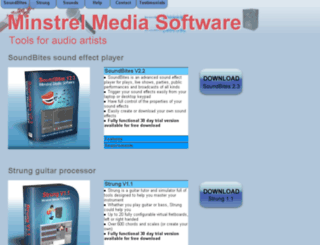 minstrelmediasoftware.co.uk screenshot