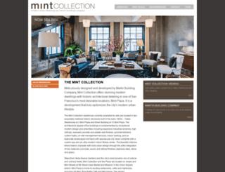 mintcollectionsf.com screenshot