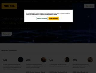 mintel.com screenshot
