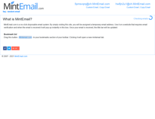 mintemail.com screenshot