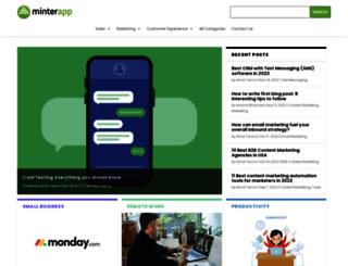minterapp.com screenshot