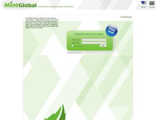minteurope.bvdinfo.com screenshot