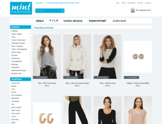 mintfashion.se screenshot