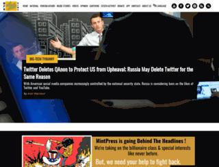 mintpress.net screenshot