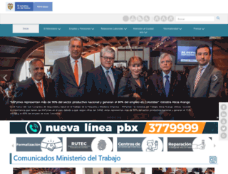 mintrabajo.gov.co screenshot
