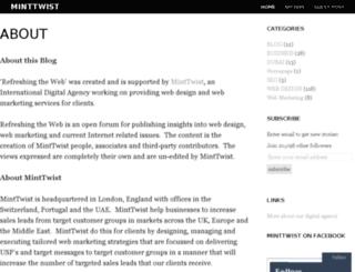 minttwist.org screenshot