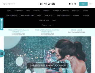 mintwish.com screenshot