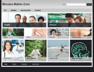 minutes-matter.com screenshot