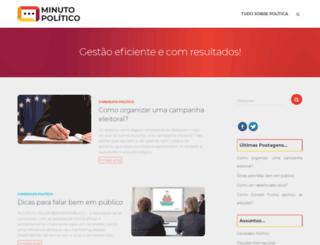 minutopolitico.com.br screenshot