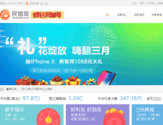 minxindai.com screenshot