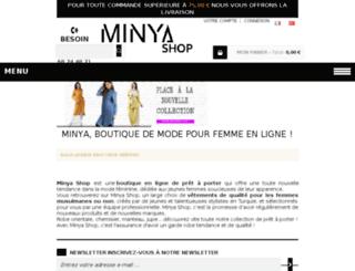 minya-shop.com screenshot