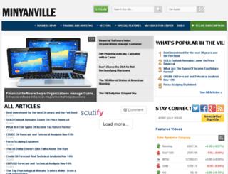 minyanville.com screenshot