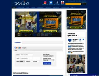 mio.com.co screenshot