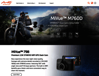 mio.com screenshot