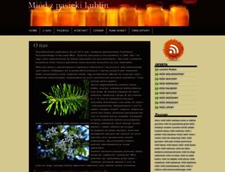 miodylublin.pszczelipark.pl screenshot
