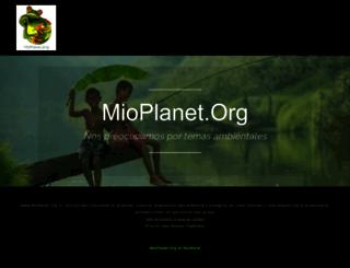 mioplanet.org screenshot