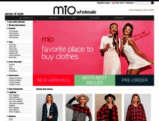 miowholesale.com screenshot