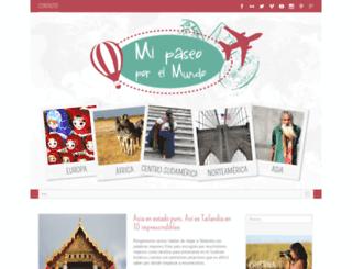 mipaseoporelmundo.com screenshot