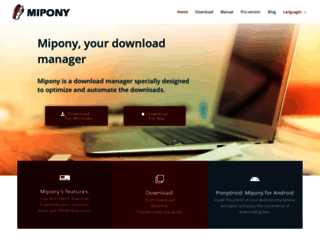 mipony.net screenshot