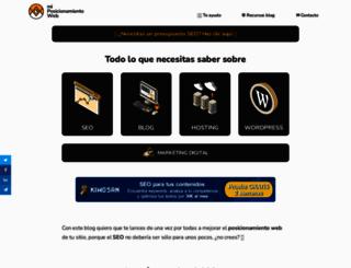 miposicionamientoweb.es screenshot