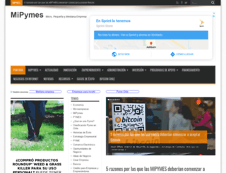 mipymes.cl screenshot