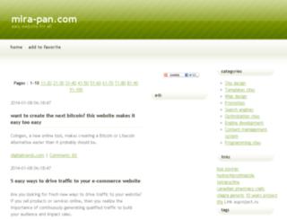 mira-pan.com screenshot