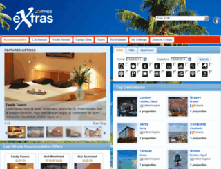 mira.jomres-extras.com screenshot