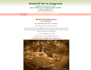 mirabelpark.com screenshot