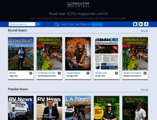 mirabelsmagazinecentral.com screenshot