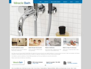 miraclebath.com screenshot