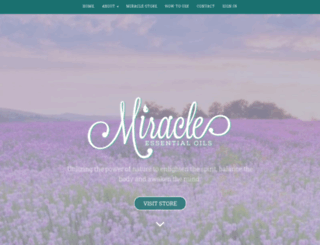 miracleessentialoils.com screenshot