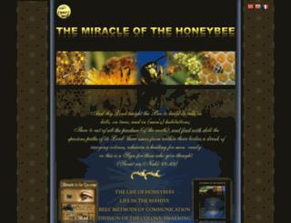 miracleofthehoneybee.imanisiteler.com screenshot