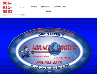 miraclerooter.org screenshot