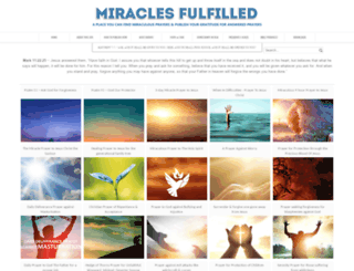 miraclesfulfilled.blogspot.com.au screenshot