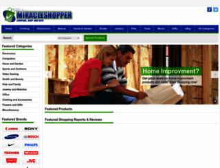 miracleshopper.com screenshot