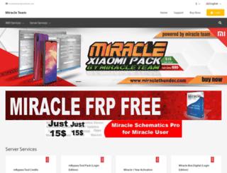 miracleteam.shop screenshot