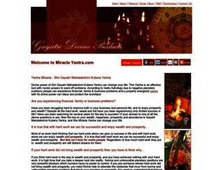 miracleyantra.com screenshot