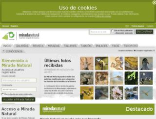 miradanatural.es screenshot