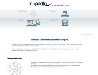 miradlo.info screenshot